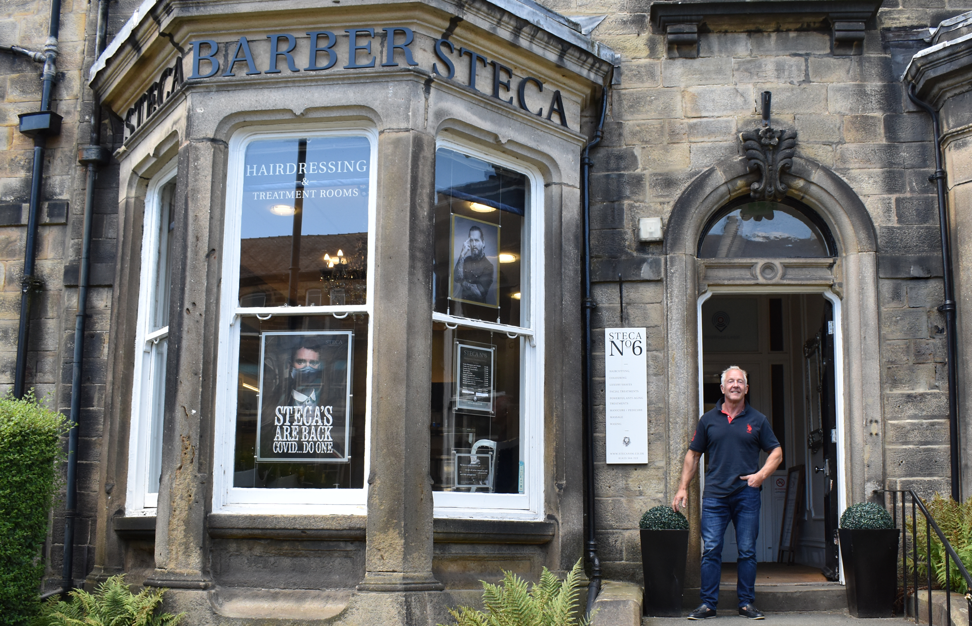 Harrogate Mens Groom Room Barber Shop Treatments